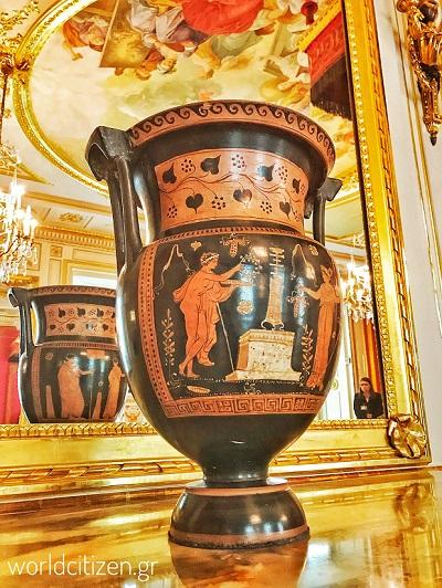 Αρχαίος Ελληνικός αμφορέας στο Βασιλικό κάστρο της Βαρσοβίας στην Πολωνία.