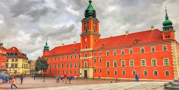 Βασιλικό κάστρο της Βαρσοβίας στην Πολωνία