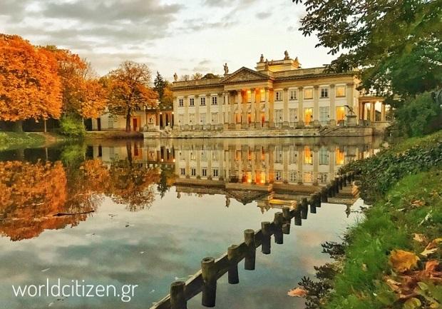 Πάρκο Λανζένκι στη Βαρσοβία, Πολωνία.
