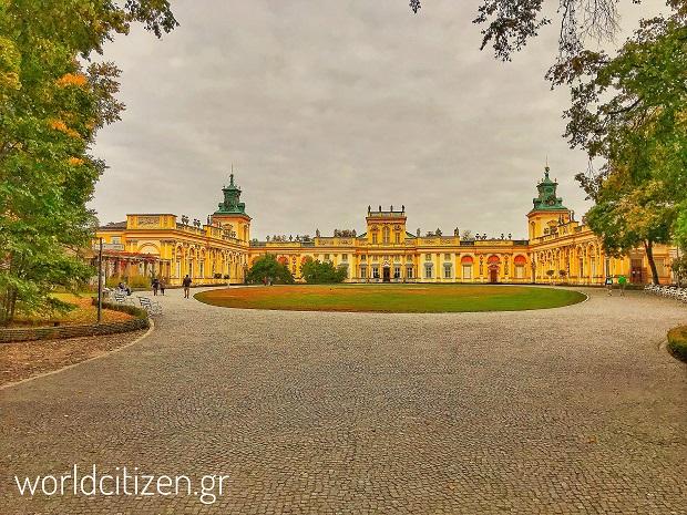 Ανάκτορο Βιλάνοβ στη Βαρσοβία, Πολωνία.