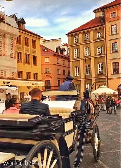 Παλιά πόλη της Βαρσοβίας στην Πολωνία.