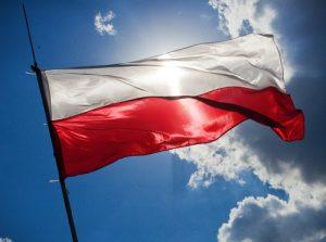 Σημαία Πολωνίας.