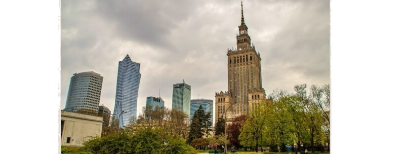 Culture & Science Palace, Warsaw, Poland.