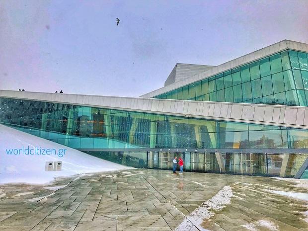 Όσλο Opera House, Νορβηγία - εξωτερική άποψη.