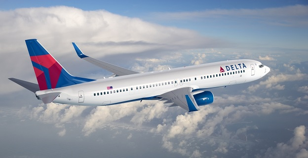 Αεροπλάνο της αεροπορικής εταιρείας Delta Airlines.