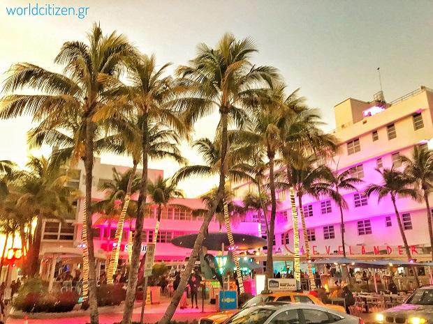 Miami Beach, περιοχή ιδανική για διασκέδαση & φαγητό στο Μαϊάμι.