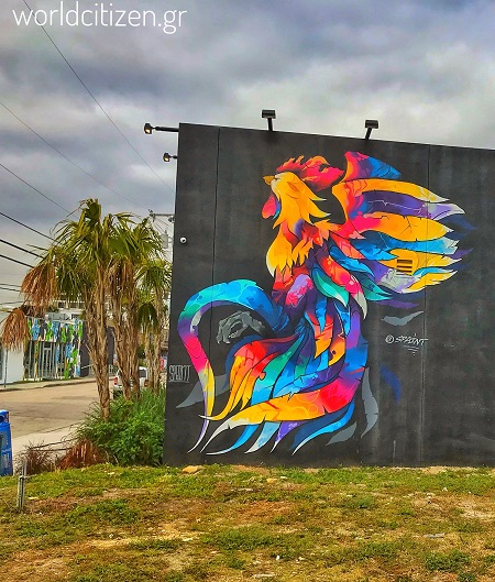 Wynwood, περιοχή στο Μαϊάμι με ξεχωριστά γκράφιτι στους τοίχους.