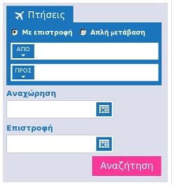 Αεροπορικά εισιτήρια.
