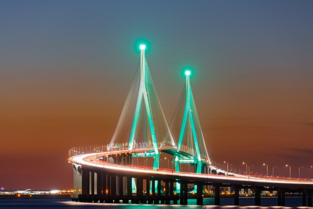 Γέφυρα στο Ίντσεον της Νότιας Κορεάς.