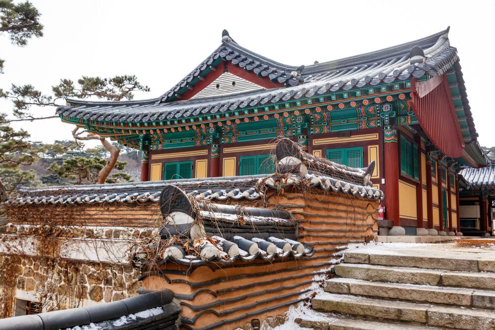 Jeondeungsa Temple στο Ίντσεον της Νότιας Κορέας.