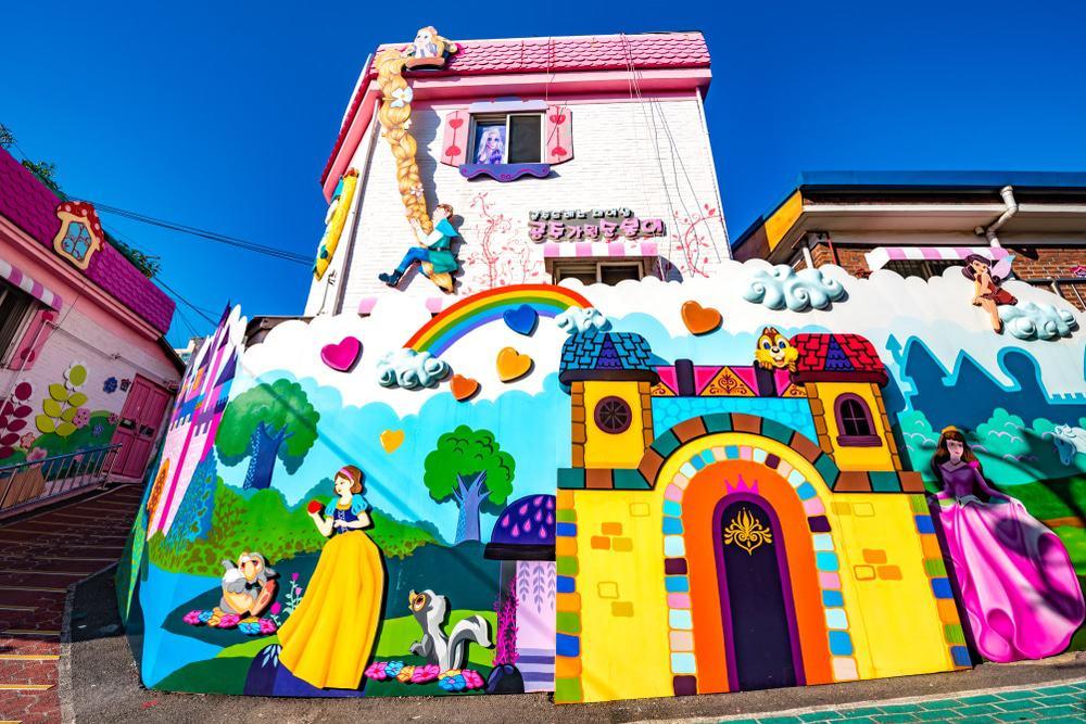 Songwol-dong Fairy Tale Village στο Ίντσεον της Νότιας Κορέας.