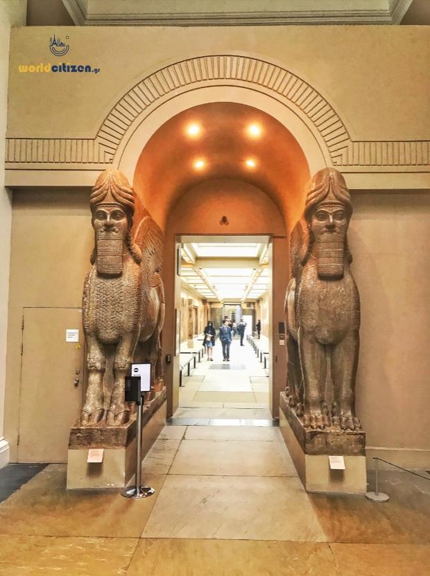 Βρετανικό Μουσείο, Λονδίνο - Αιγυπτιακά εκθέματα.