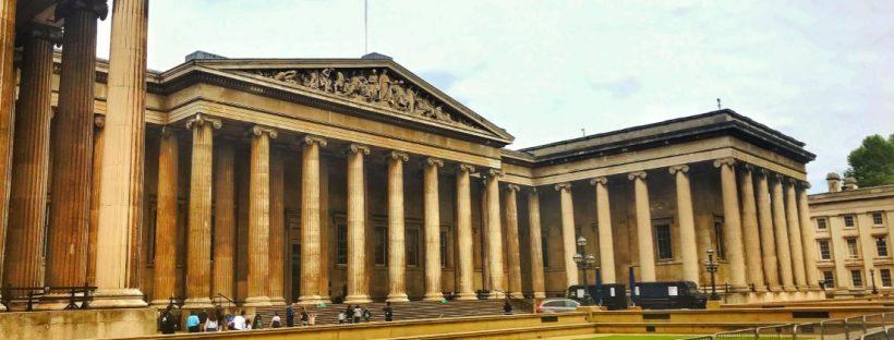 Βρετανικό Μουσείο, Λονδίνο εξωτερική όψη.