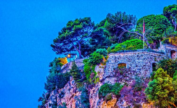 Κάστρο Antoine στο Μονακό - Fort Antoine de Monaco.