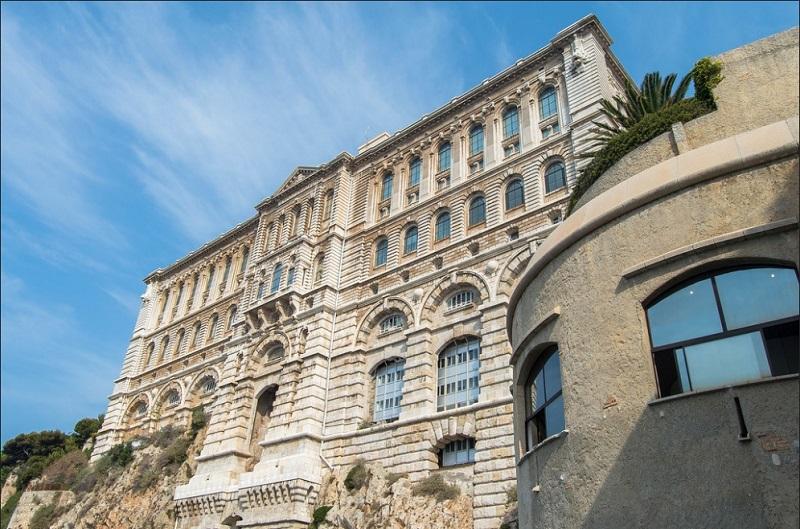Μουσείο ωκεανογραφίας του Μονακό.