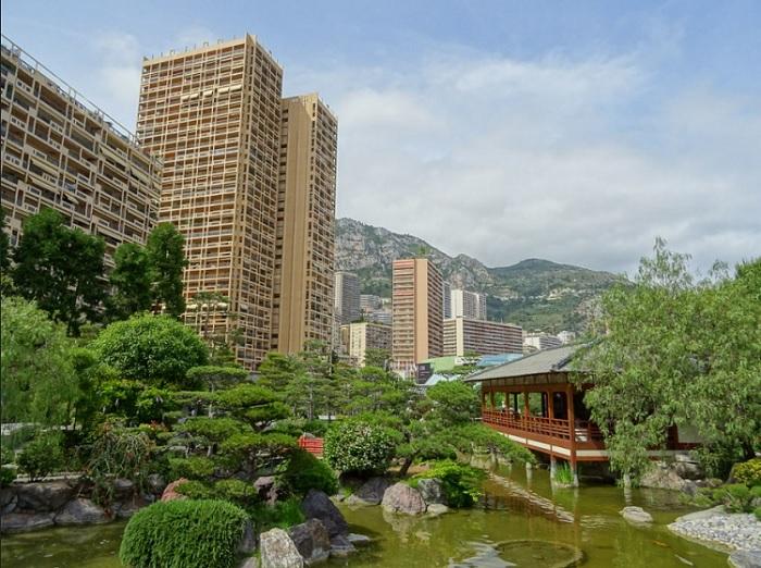 Ο Ιαπωνικός κήπος του Μονακό - Jardin Japonais de Monaco.