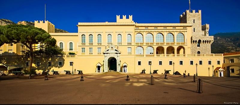 Παλάτι του Πρίγκιπα στο Μονακό.