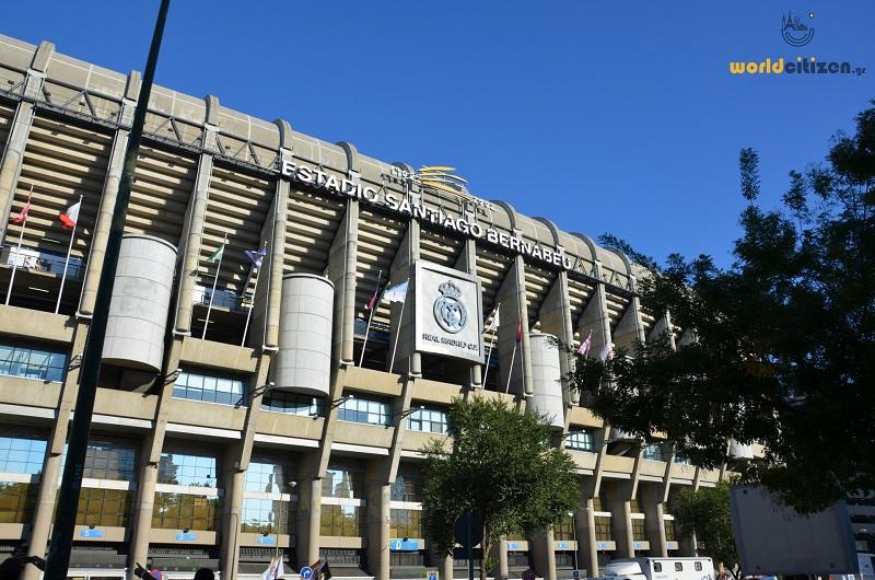 Santiago Bernabeu _ Real Madrid Football Stadium, Spain, Madrid.