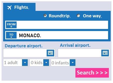 worldcitizen.gr air tickets search engine - Air tickets to Monaco.