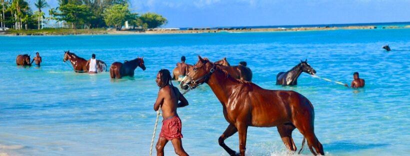Bridgetown at Barbados Islands in Caribbean.