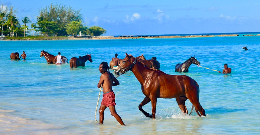 Μπριτζτάουν (Bridgetown) στα Νησιά Μπαρμπέϊντος στην Καραϊβική.