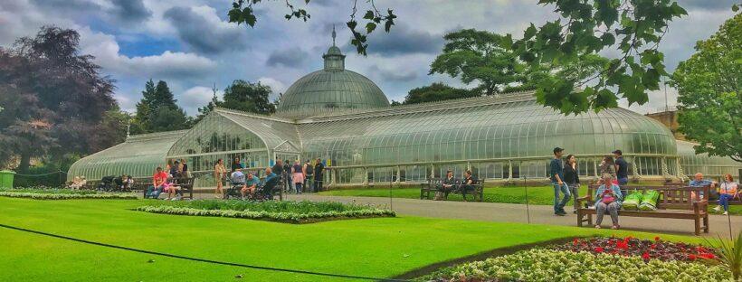 Glasgow's Botanical Gardens.