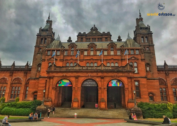 Kelvingrove Museum & Art Gallery in Glasgow, Scotland.
