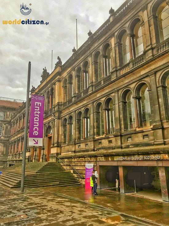 Edinburgh National Museum in Scotland.