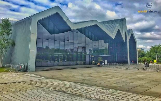 Riverside Museum , Glasgow (Transport Museum).