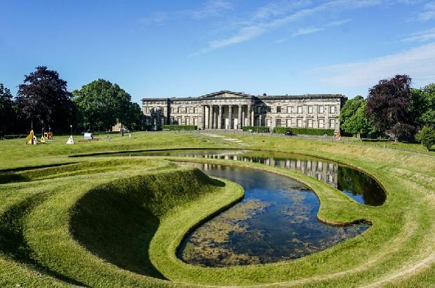 Scottish National Gallery at Edinburgh in Scotland.