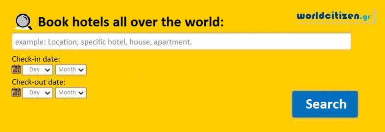 worldcitizen.gr Book hotels all over the world: